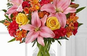 Cheerful Flowers باقة ورود شيرفل