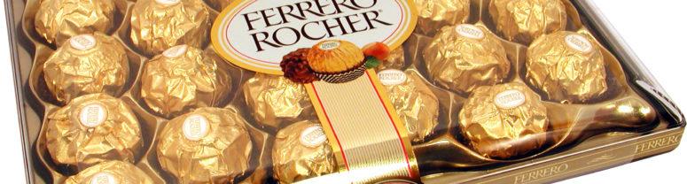Fererro Rocher Choclate شوكولاتة فيريرو روشية
