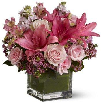 Think Rose Flowers Bouqet باقة ورود ثنك روز