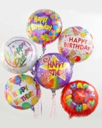 Happy Birthday Balloons بالونات عيد الميلاد