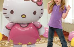 2 Hello Kitty Balloons بالونين هيلو كيتي