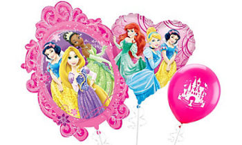 Disney Princess Balloons بالونات أميرة ديزني