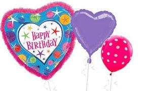 Happy Birthday Helium Balloons بلالين هيليوم عيد ميلاد