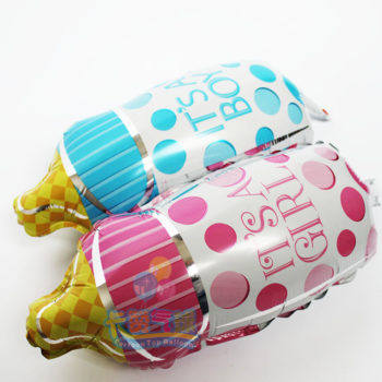 It's a boy, It's a Girl Helium Balloons بالونات هيليوم انه ولد, انها بنت