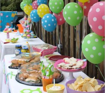Dotted Helium Party Balloons بالونات حفلات هيليوم منقطة