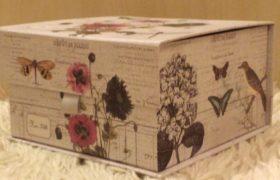 Vintage Gift Box بوكس زهور كلاسيكي