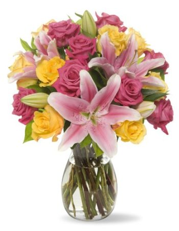 Pink Blooms Bouquet بوكيه بينك بلومز