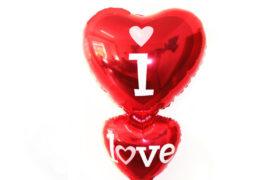 I Love You Helium Balloon بالون احبك