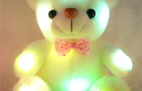 Flash Light Teddy Bear دبدوب الحب مضيء