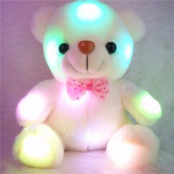 Flash Light Teddy Bear دبدوب الحب مضيء