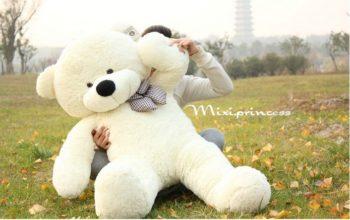 Giant Teddy Bear (Red/White/Pink) (دبدوب المحبين عملاق (أحمر\أبيض\زهري