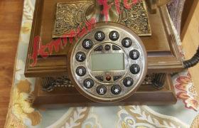 Vintage Classic Land Line Phone هاتف أرضي كلاسيكي