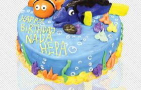 Children Birthday Cake كيك عيد ميلاد اطفال