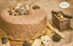 Ferrero Rocher Cake كيك فريرو روشيه