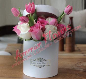 Large Flowers Box بوكس الورود الكبير
