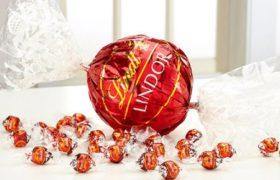 Lindt Chocolates Ball 1000g كرة شوكولا لينت العملاقة