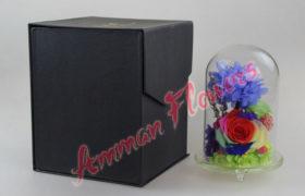Immortal Flowers Bouquet بوكية الورود الاسطورية الملونه (لا تذبل)