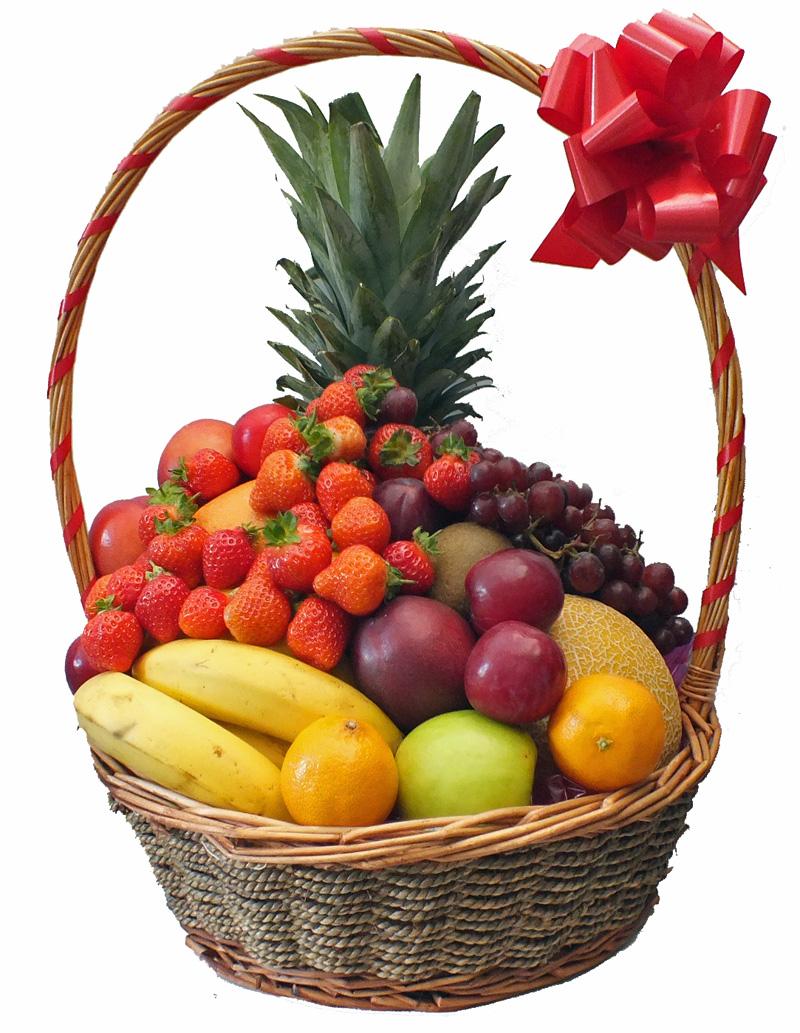 سلة الفواكه الطازجة لمناسباتكم