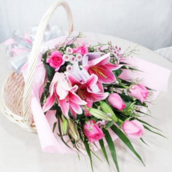 Simply Pink Bouquet بوكيه سمبلي بينك