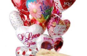 Love Balloons 'n Chocolate بالونات الحب مع شوكولا