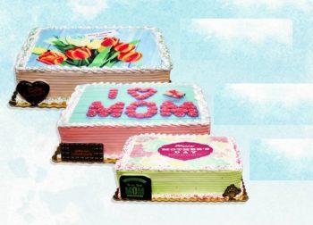 Mother's Day Rectangle Cake كيك عيد الأم مستطيل