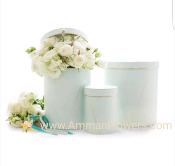 Mother's Days Flowers Floral Box بوكس ورود عيد الأم المورد