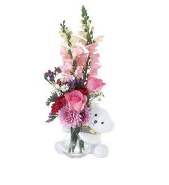 Love Flowers n Teddy Bear زهور الحب و دبدوب