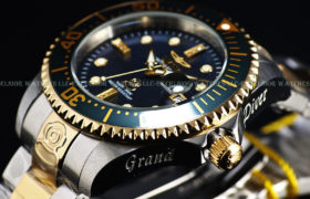 Invicta Diamond Grand Diver Limited Edition Watch ساعة يد فاخرة من انفكتا