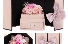 Immortal Flower Box w/Drawer بوكس الورود الأسطورية مع درج